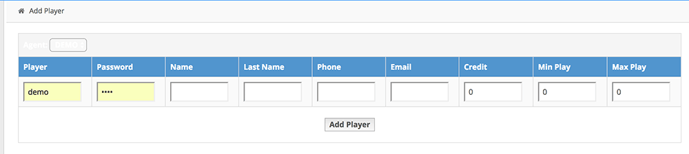 Adding players with sports betting agent sites