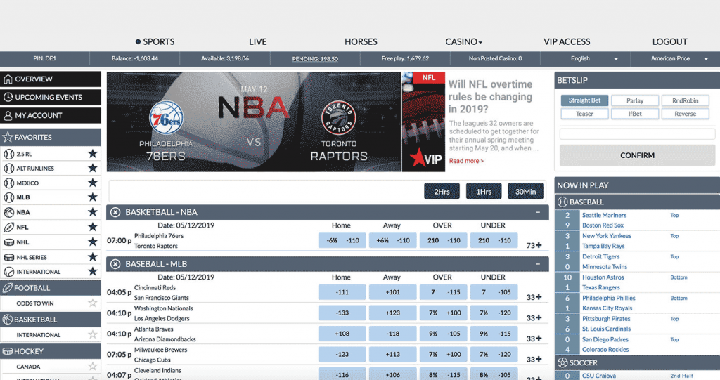 IDSCA price per head front end sportsbook